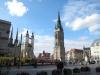 Marktplatz: Oberbürgermeister eröffnet Ausstellung zu den Grundrechten