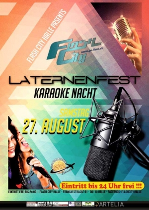 Karaoke-Nacht im Flash-City