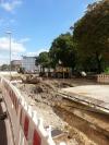 Umleitung am Südstadtring wegen eines neuen Bauzustandes