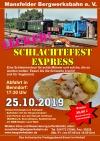 Kulinarische Freitagstouren durchs Mansfelder Land – Essen auf Schienen
