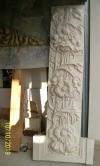 Nachbildung des großen Sandsteinreliefs fertiggestellt